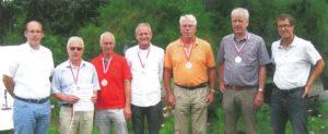Aufstiegsehrung durch den Verband auf dem Gelände des Tennisvereins Rot-Weiß in Nürnberg
